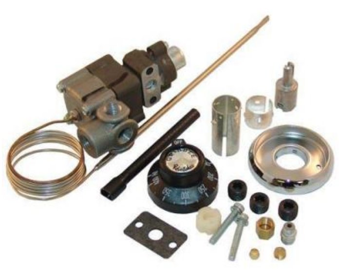 Robertshaw gas thermostat kit parts